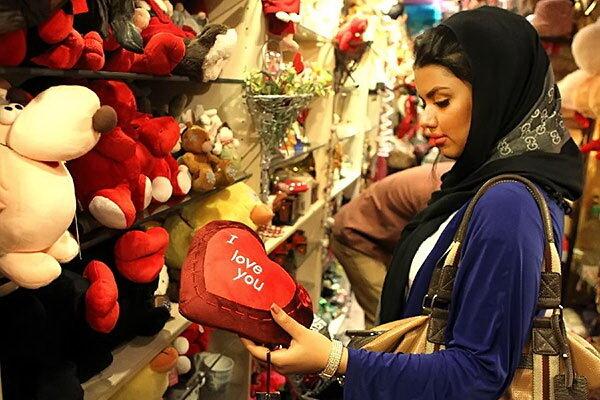 Islamisten in Ghom bekämpfen den Valentinstag