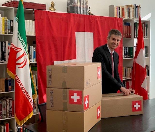Erste Lieferung über Schweizer Abkommen