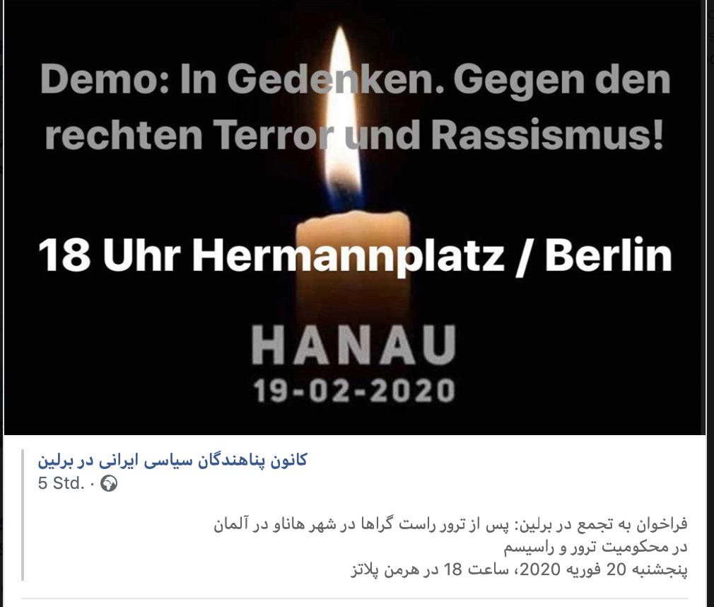 Wut und Trauer unter den Deutsch-Iraner*innen