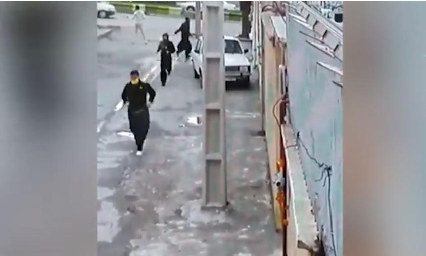 Gefängnisausbruch aus Angst vor Corona