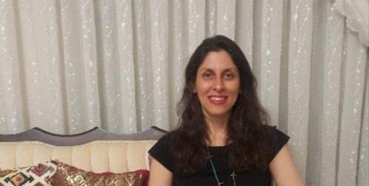 Nazanin Zaghari-Ratcliffe mit elektronischer Fußfessel im Hafturlaub