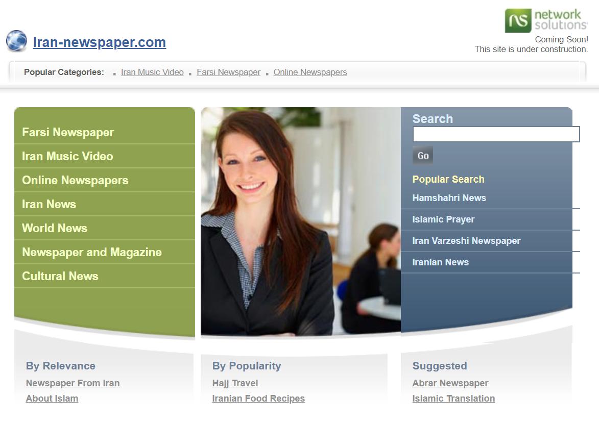 Online-Domain der Regierungszeitung beschlagnahmt