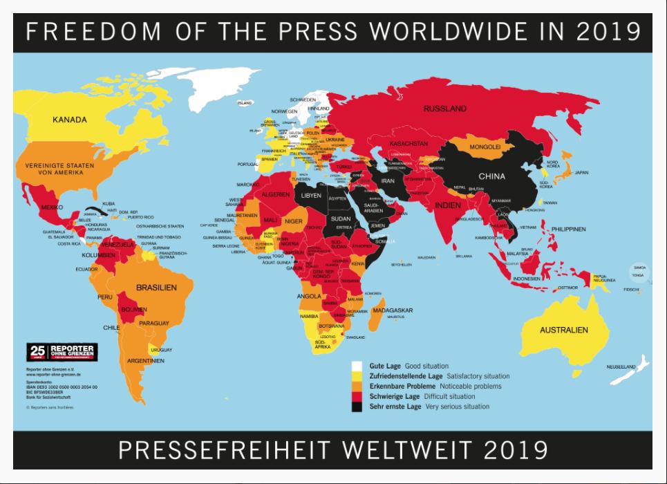 Reporter ohne Grenzen kritisiert Aufforderungen zur Reue