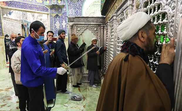 Der Schreien der Heiligen Masoumeh in Qom