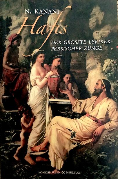 """Buchcover - Foto: Das Gemälde """"Hafis am Brunnen"""", von Anselm Feuerbach!"""