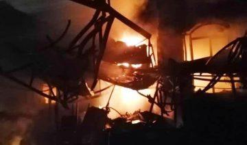 Brand und Explosion in Sina-Athar-Klinik in Teheran