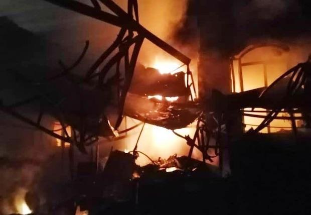 19 Tote nach Brand und Explosion in Teheraner Klinik