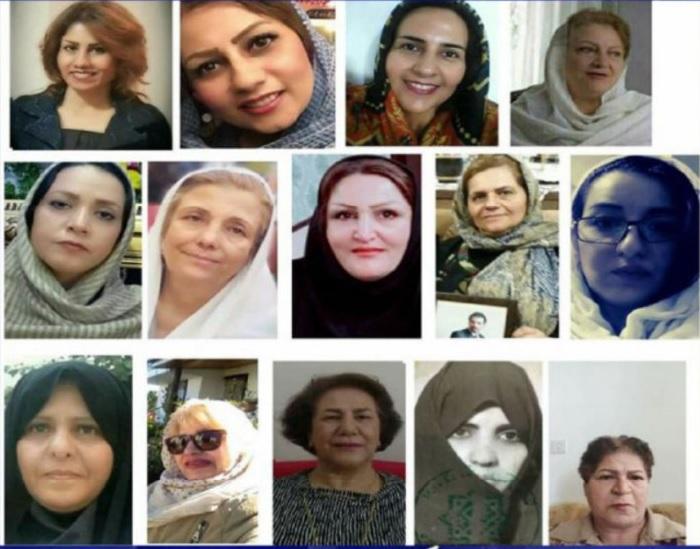 14 Frauen, die den islamischen Staat herausforderten: Nosrat Beheshti, Shahla Entessari, Giti Fazelpour, Shahla Jahanbin, Zahra Jamali, Ezzat Javadi-Hessar, Farangis Mazlum, Narges Mansouri, Kimia Nouruzi-Saber, Parva Pachideh, Fatemeh Sepehri, Maryam Soleymani, Sussan Taherkhani, Fereshteh Tasvibi