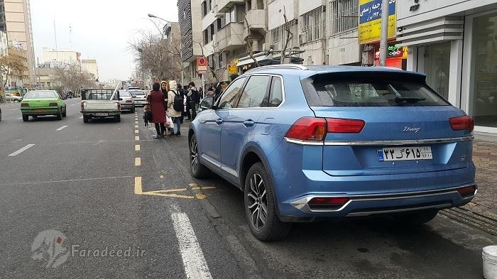 China-SUV Zotye Damai X7 ist im Iran sehr beliebt