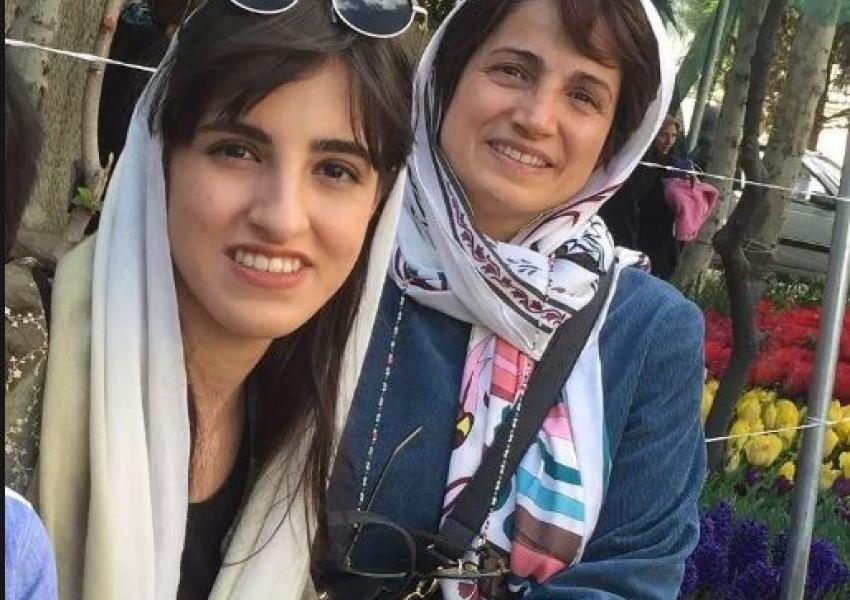 Auch Tochter Mehraweh Khandan wurden vor kurzem verhaftet und wieder freigelassen - der Grund wurde nicht bekanntgegeben Evin-Gefängnis,