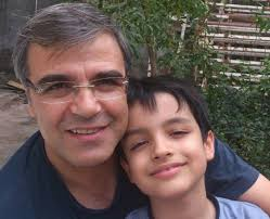 Reza Khandan und Sohn Nima (Foto aus dem Archiv)