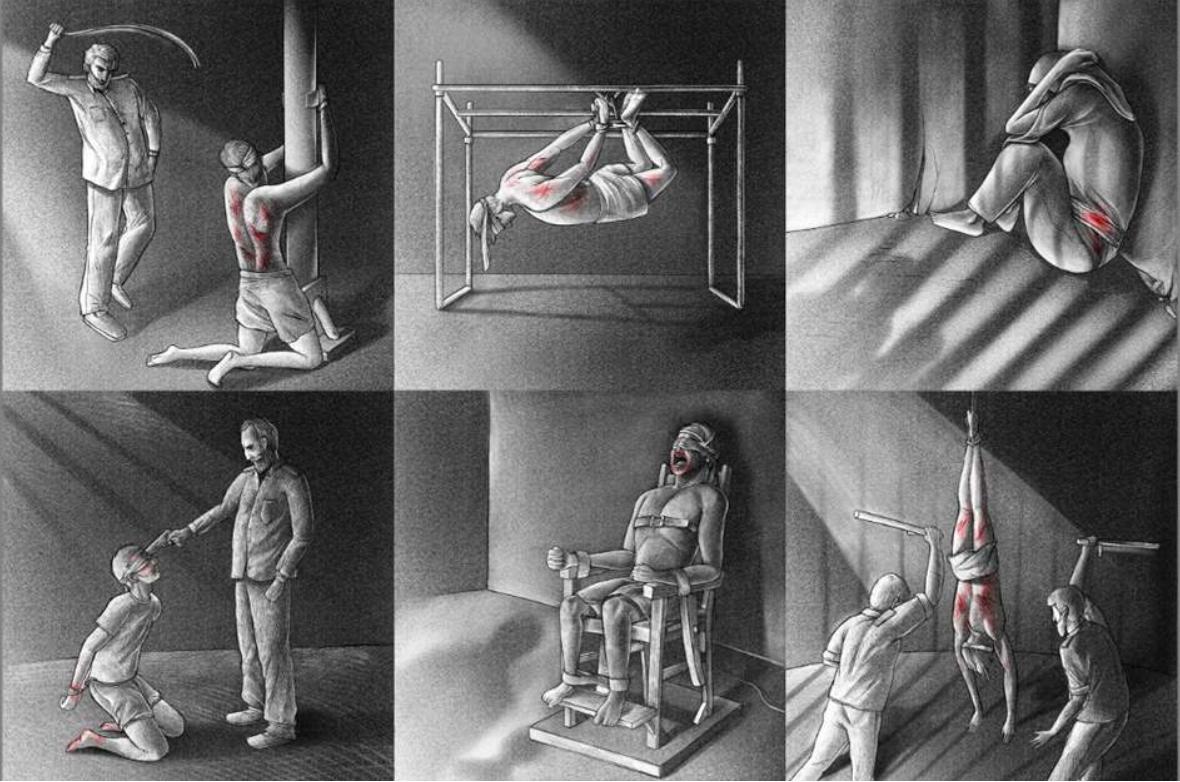 AI: Berichte von drakonischer Folter, Unruhen vom November 2019, Inhaftierung, Gefängnis. Islamische Republik Iran, Amnesty International