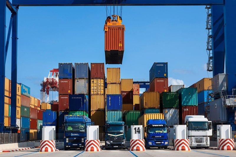 Irans geringer Anteil an regionalem Handel