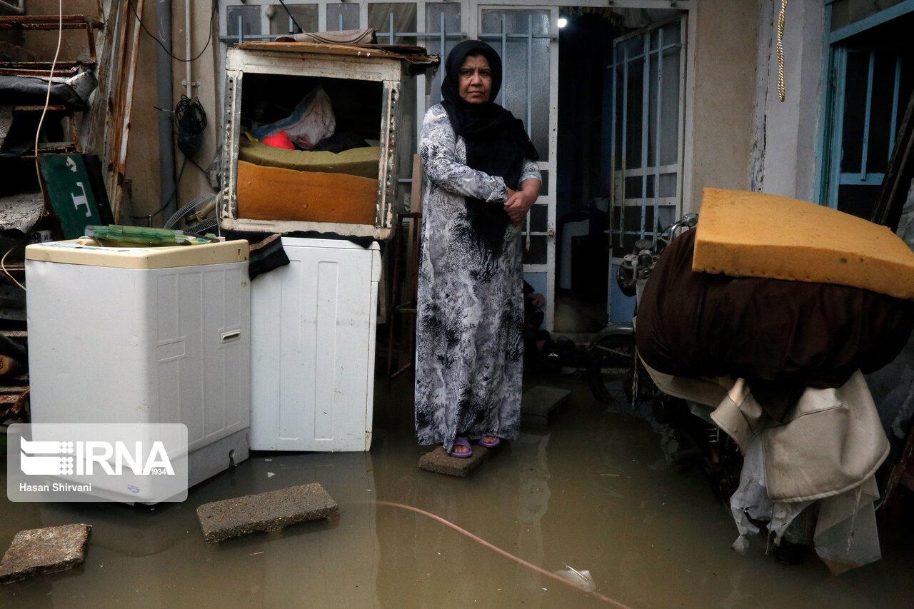 Überschwemmung in acht Provinzen Irans