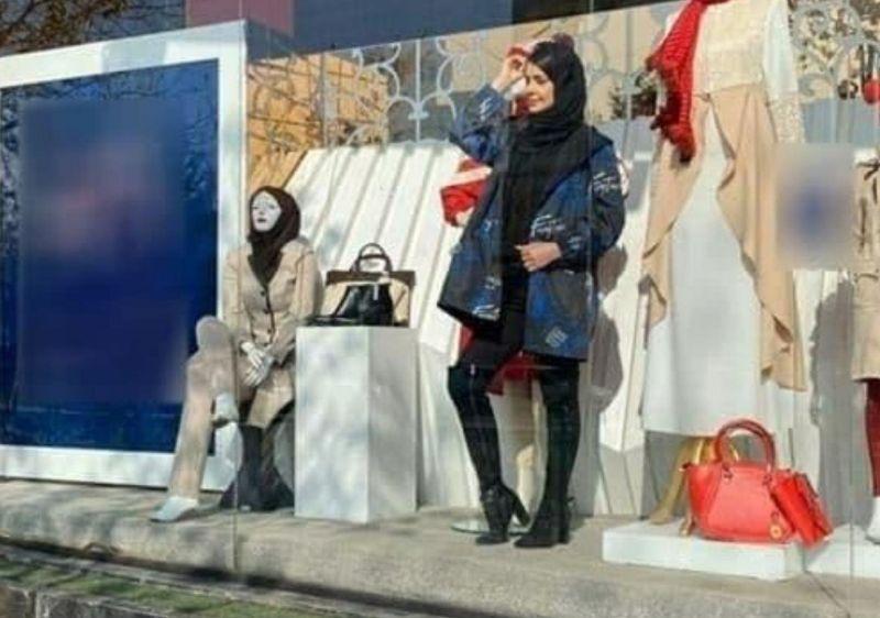 Mannequins und Fotografen im Iran festgenommen