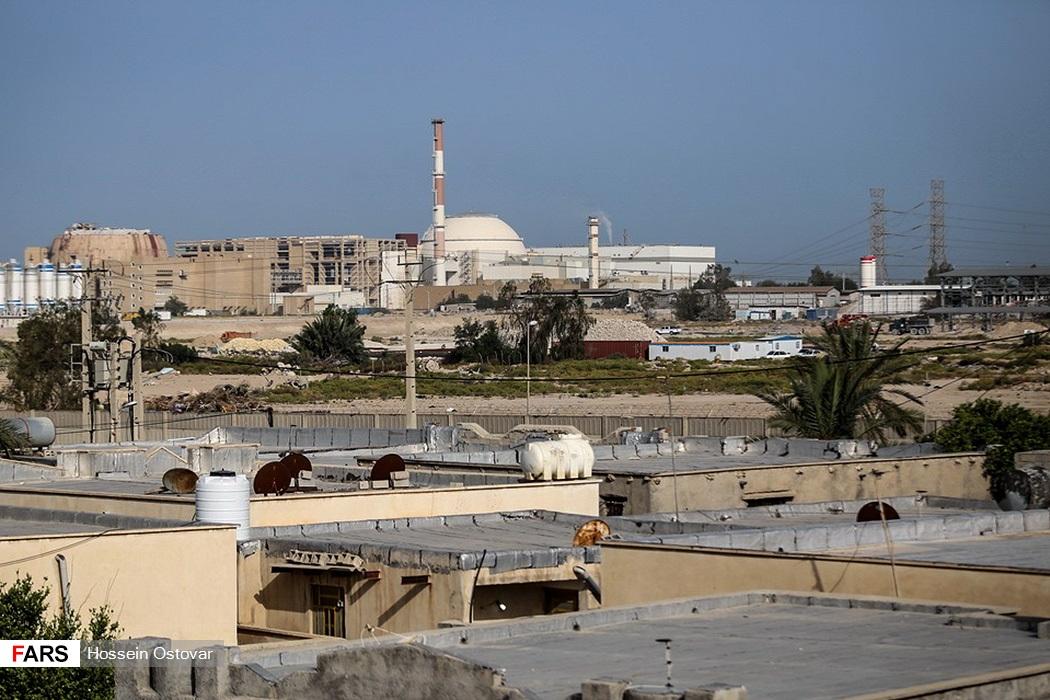 Atomkraftwerk in der südiranischen Stadt Bushehr