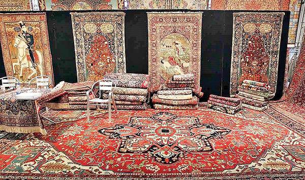 Teppichexport, Iran, handgeknüpfte Perserteppiche, Exporteinnahmen, Teppichindustrie Iran, Handgeknüpfte Perserteppich