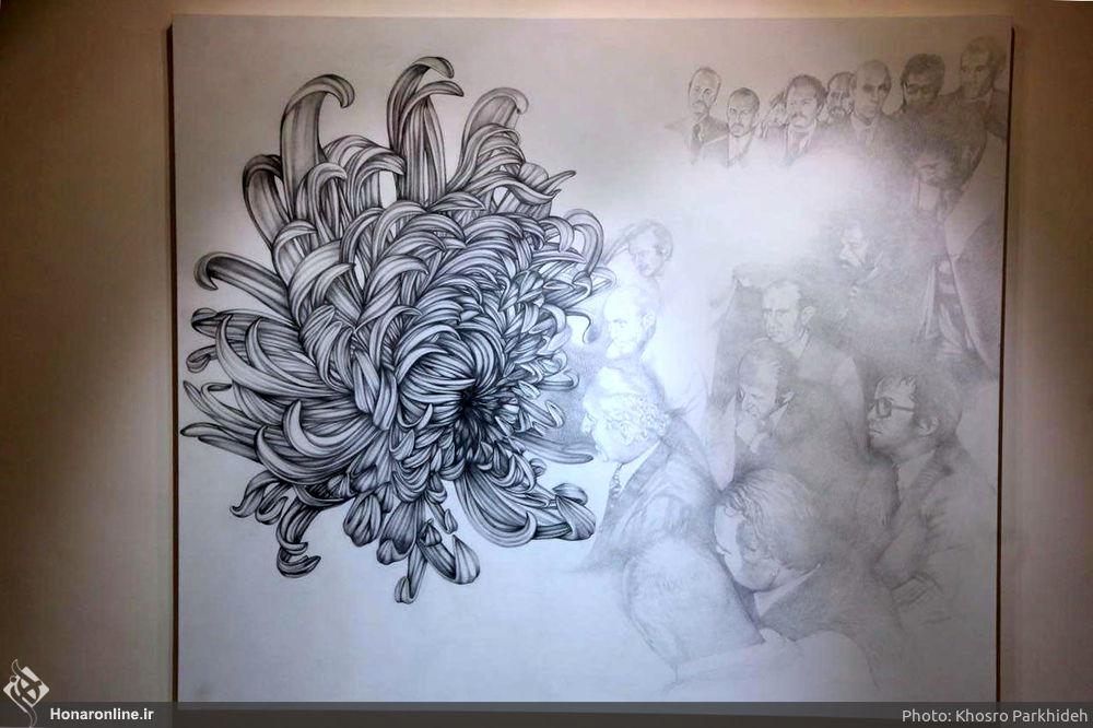 """Aus der Serie """"Hopeful Perspectives"""" - von Mojgan Bakhtiari, einer der derzeit angesagten Künstlerinnen im Iran"""