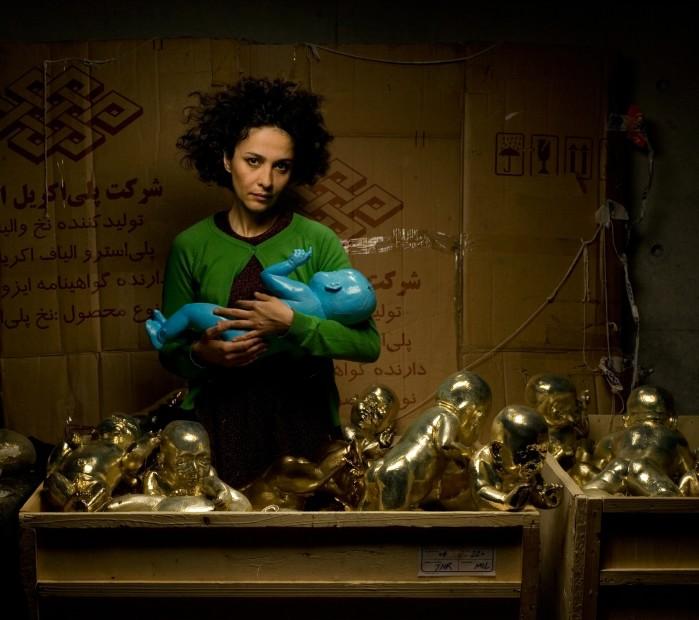 Ein Werk von Bita Fayyaz, eine der derzeit renommiertesten iranischen Künstlerinnen