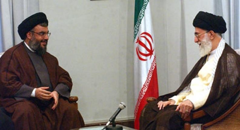 Hassan Nasrallah, Generalsekretär der libanesischen Hisbollah (li.) ist ein gern gesehener Gast beim Irans Staatsoberhaupt Ayatollah Khamenei!