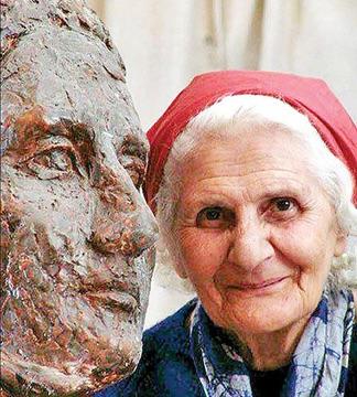 """Lilit Terian, genannt """"die Mutter der modernen iranischen Bildhauerei"""""""