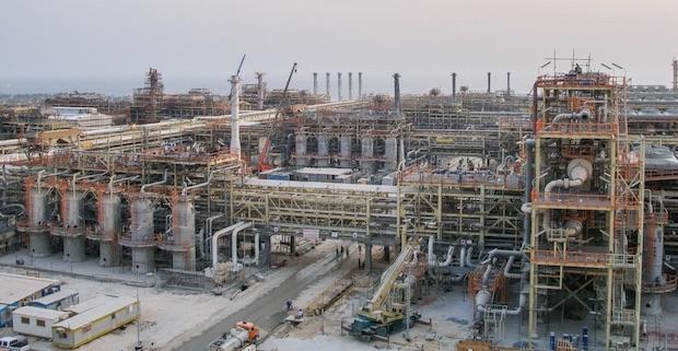"""Erdgasfeld """"South Pars"""" ist das größte Projekt des Khatam-Al-Anbia-Holdings!"""