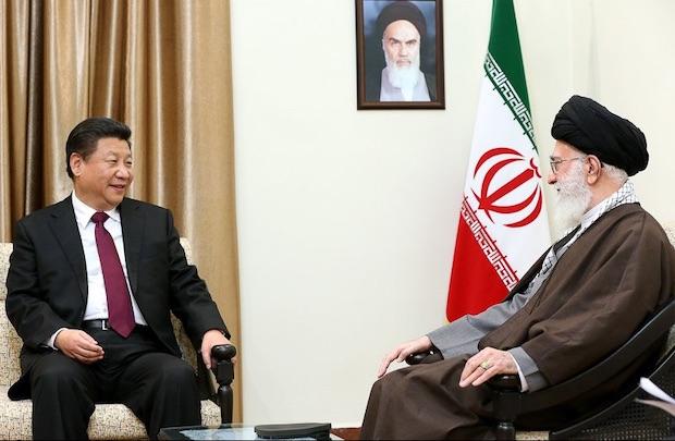Ali Khamenei und Xi Jinping