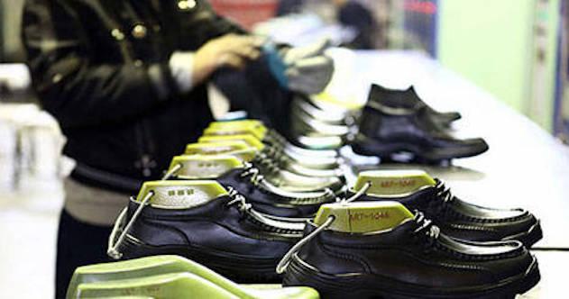 Der Export iranische Schuhe in die Nachbarländer hat in den letzten Jahren stark abgenommen