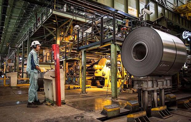 Stahlwerk Mobarake Isfahan Iran