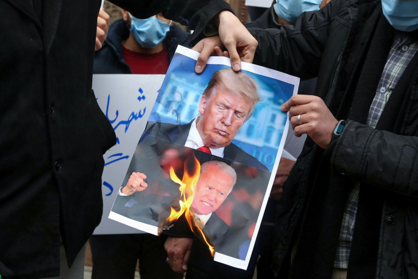 Für viele USA-Gegner im Nahen Osten unterscheiden sich die US-Präsidenten nicht voneinander - Foto: madaresharghi.ir