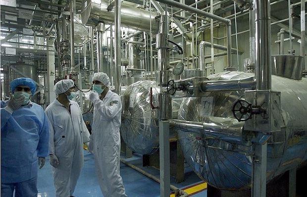 Irans Atomanlage in Natanz
