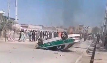 Saravan, Unruhen, Treibstoffschmuggler, Sistan und Belutschistan, iranisch-pakistanische Grenze, Armut, Arbeitslosigkeit, Revolutionsgarden