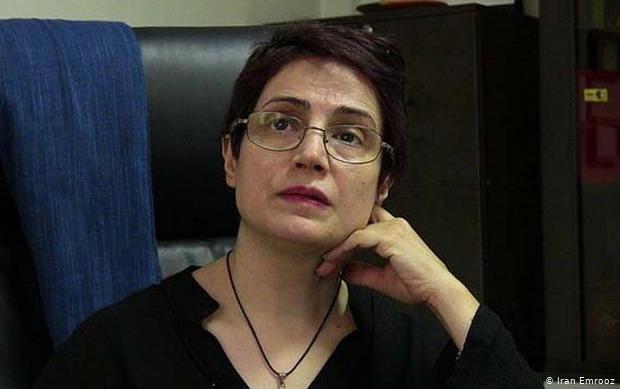 Nasrin Sotoudeh prangert Hinrichtungen im Iran an