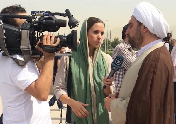 In spannungseichen Zeiten bezogen sich viele internationale Sender auf Natalie Amiris Berichterstattung!