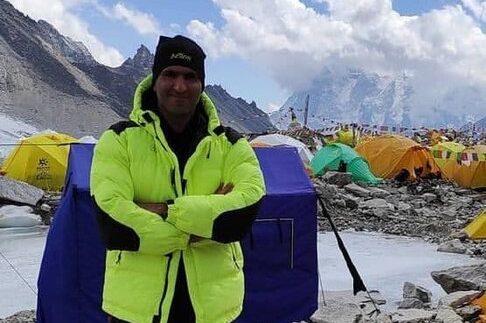 Mount Everest, Amin Dehghan, Bergsteiger Iran, Mount Everest, Profisport Iran