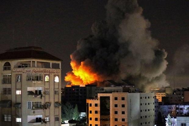 Israel antwortet auf Hamas' Raketen mit Raketen