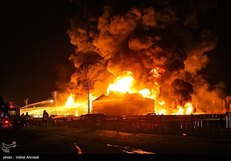 Explosion und Großbrand in Teheraner Ölraffinerie