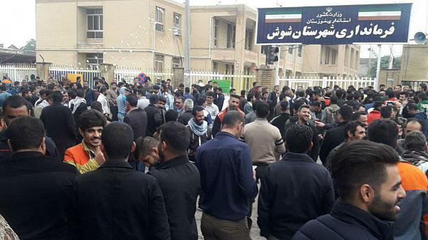 Warnschüsse bei Streik in Haft Tappeh