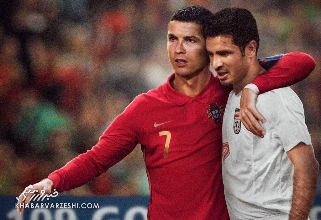 Länderspiel-Torrekord: Daeis und Ronaldos gegenseitige Ehrungen