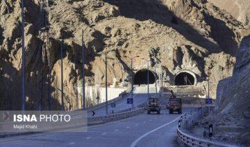 Elburs-Tunnel, Elburs-Gebirge, Autobahn Teheran-Schomal, Autobahn Tehran Shomal, Tourismus Iran, Kaspisches Meer