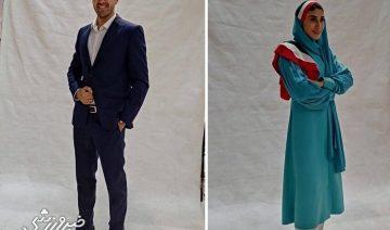 Olympia-Outfit Iran, Olympische Spiele, Iran, Outfit der iranischen Sportler, Nationales Olympisches Komitee Irans, Kianoush Saeedi, das Ministerium für Kultur und islamische Kultur Irans,
