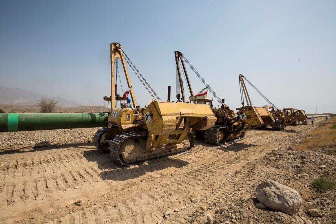 Ölexportpipeline Goreh-Dschask eröffnet