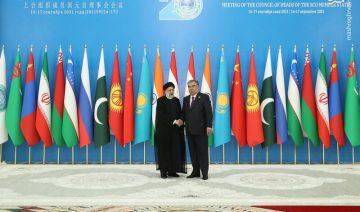Iran, Ebrahim Raissi Shanghai Cooperation Organization (SCO), Tadschikistan, Hossein Amir-Abdollahian