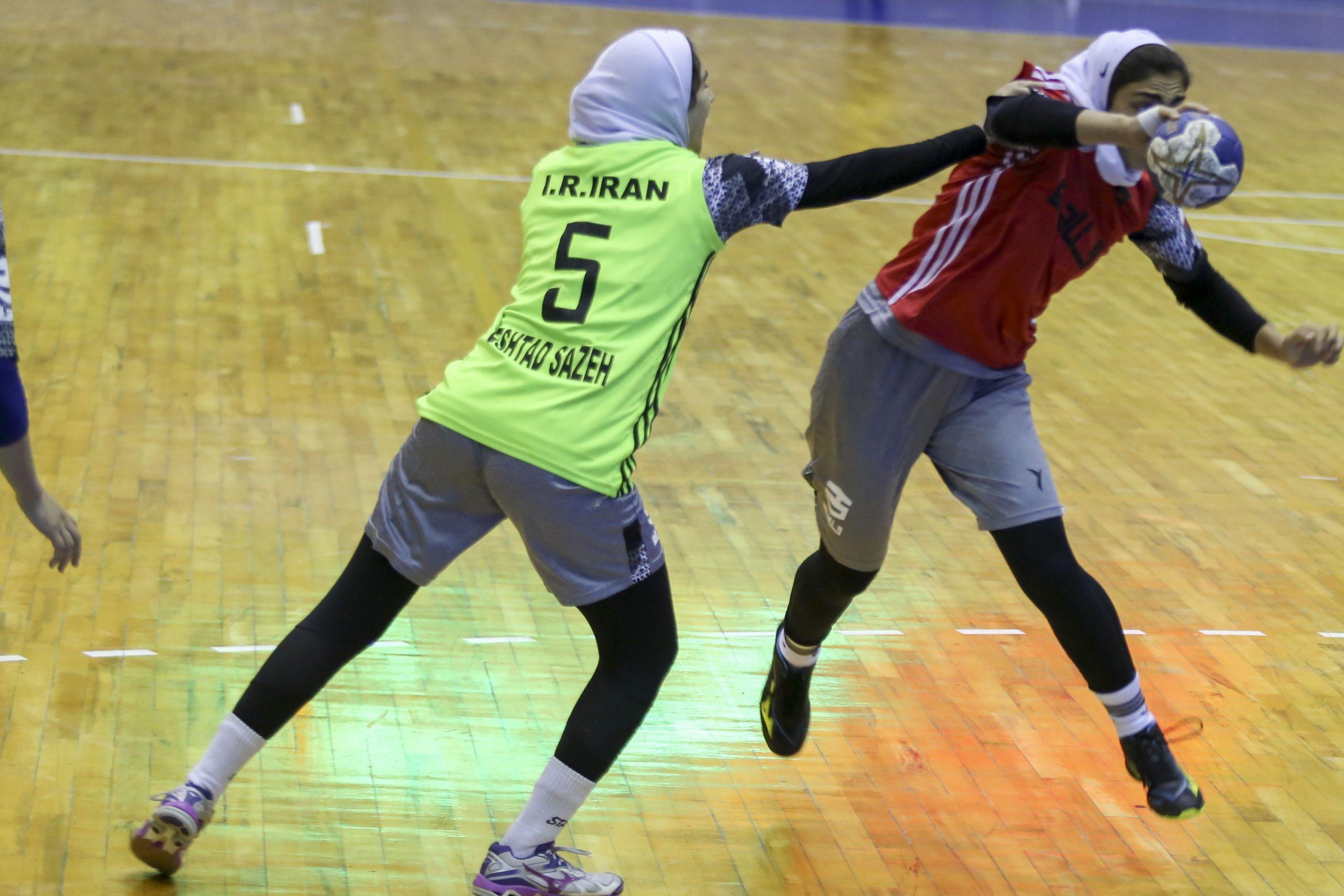Frauenhandball, Iran, Asienmeisterschaften 2021 Jordanien, Handball-Weltmeisterschaft der Frauen, Iran Frauensport, Handball, Nationalmannschaft
